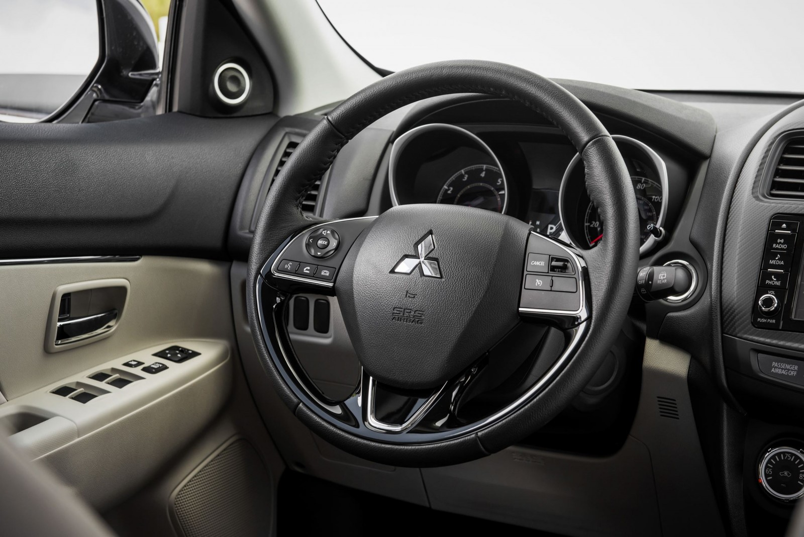 2016 mitsubishi outlander sport official debut shows new - Mitsubishi outlander sport interior ...