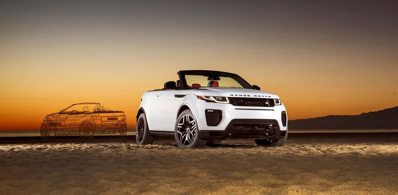 2016 range rover evoque convertible la 20. Black Bedroom Furniture Sets. Home Design Ideas