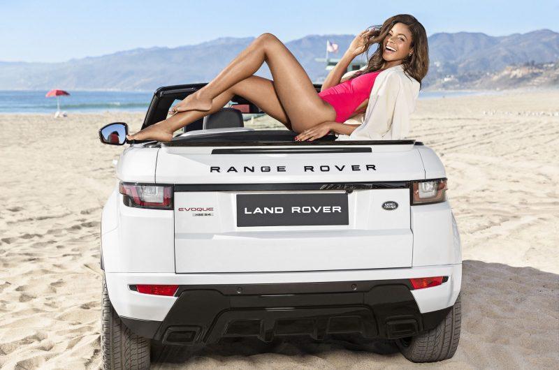 2016 RANGE ROVER Evoque Convertible LA Naomi Harris 4