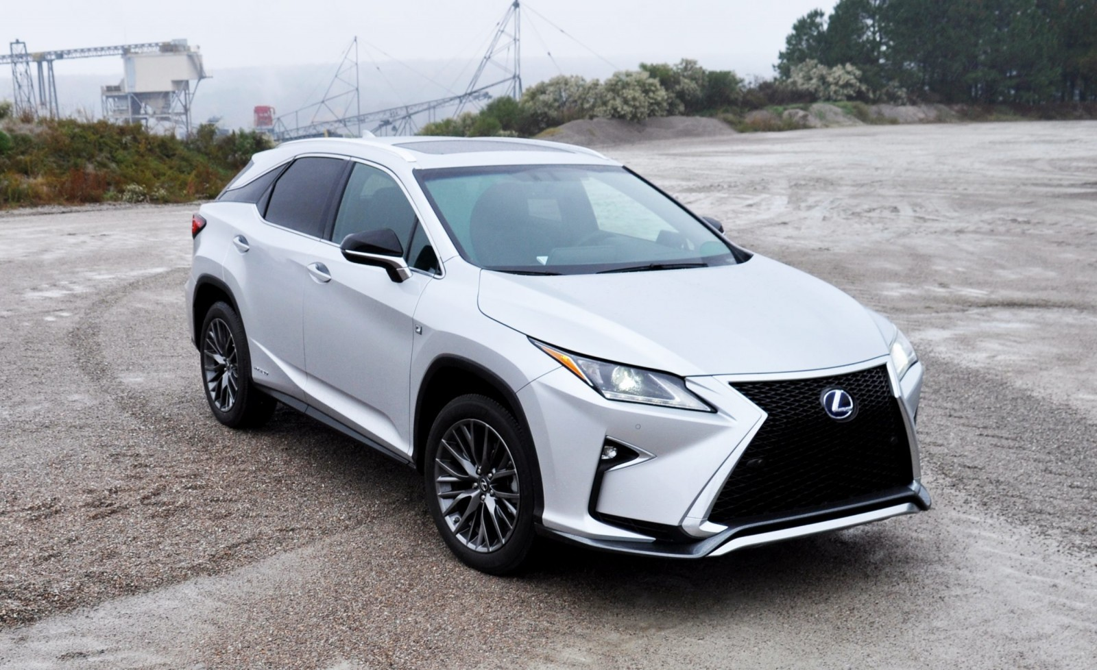 First Drive Videos! 2016 Lexus RX350 and RX450h F Sport