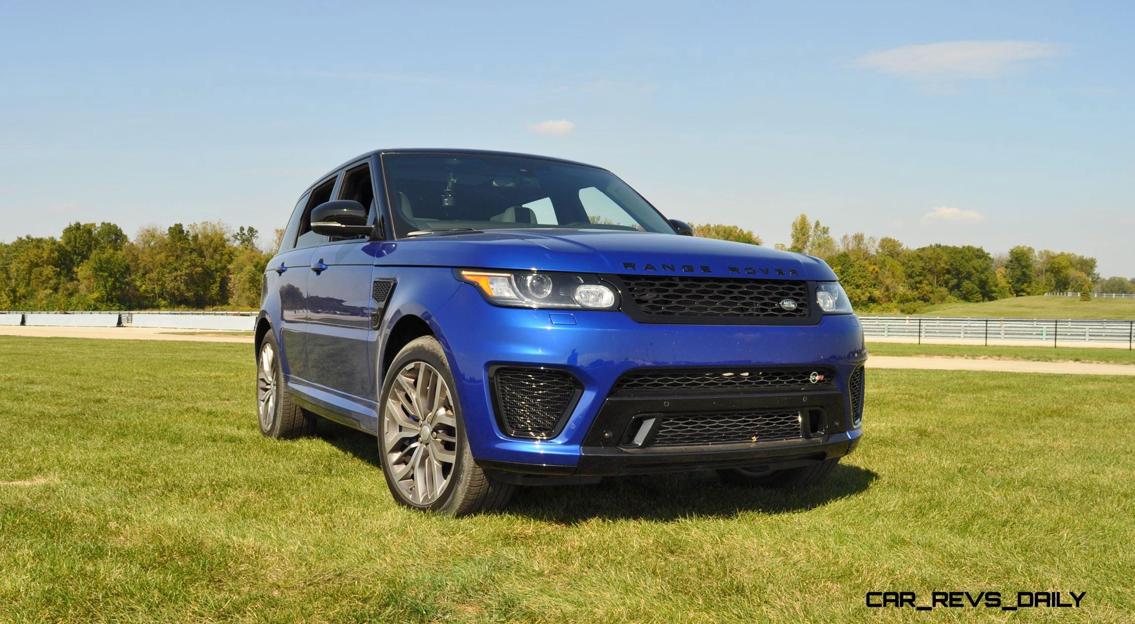 Wonderful HD Road Test Review  2016 Range Rover Sport SVR  Porsche