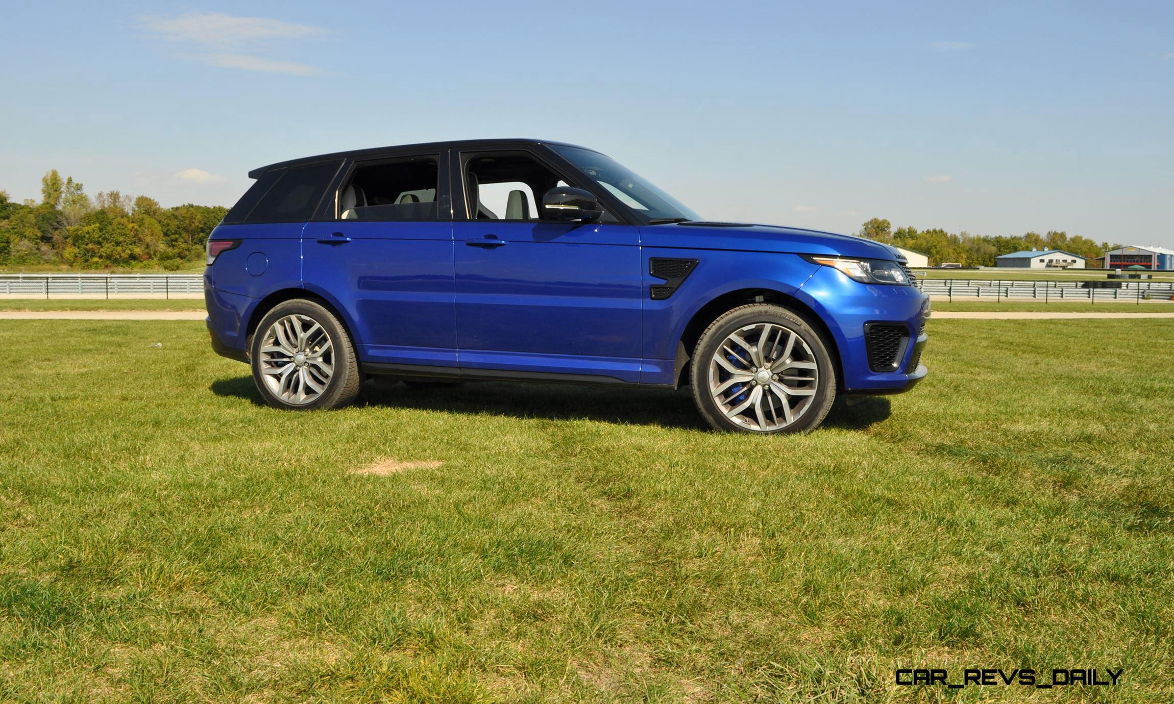 Creative HD Road Test Review  2016 Range Rover Sport SVR  Porsche