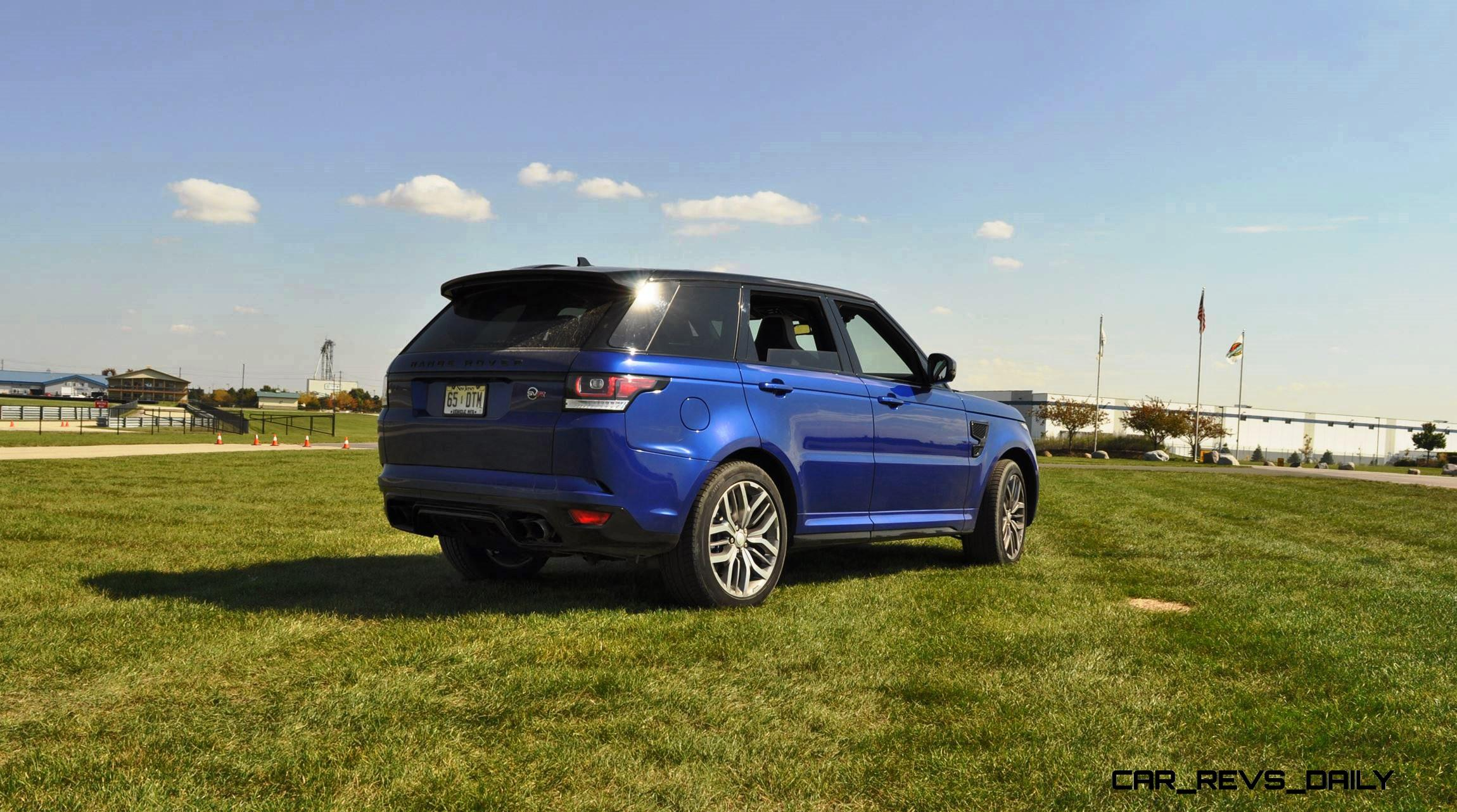 Brilliant HD Road Test Review  2016 Range Rover Sport SVR  Porsche