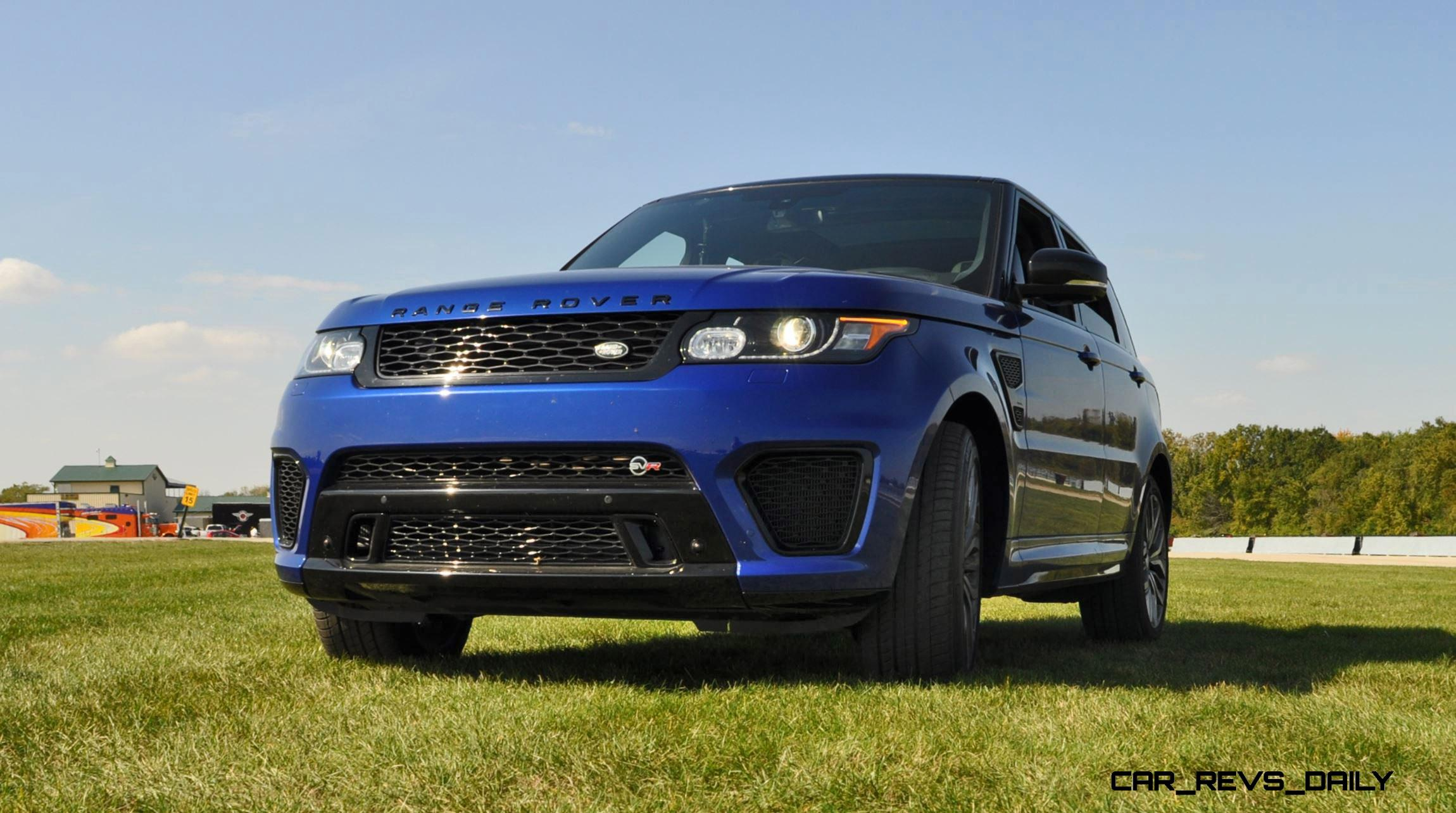 Excellent 2016 Range Rover Sport SVR Review 56