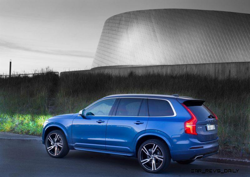 Volvo XC90 R-Design - model year 2016