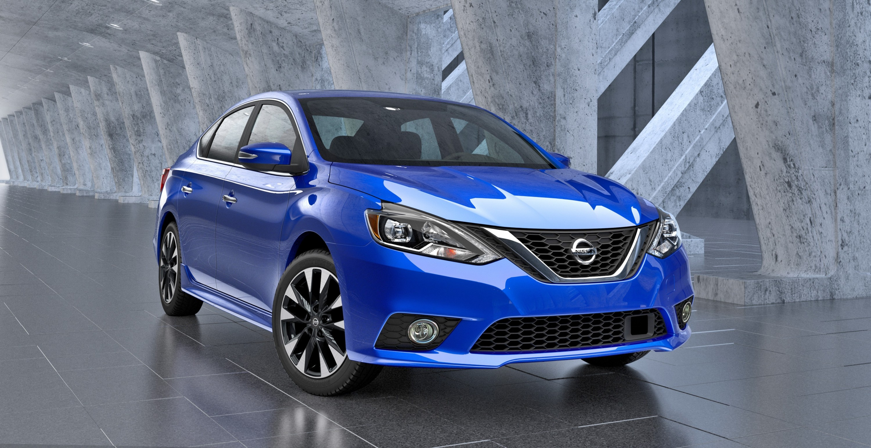 2016 Nissan Sentra Breaks Cover - New Face, Fresh Tech from $17k