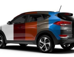 2016 Hyundai Tucson – Animated Colors Visualizer – All 8 Shades From Every Angle