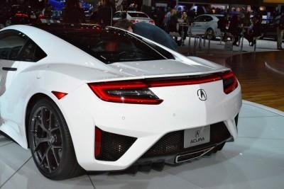 2017 Acura NSX white 1