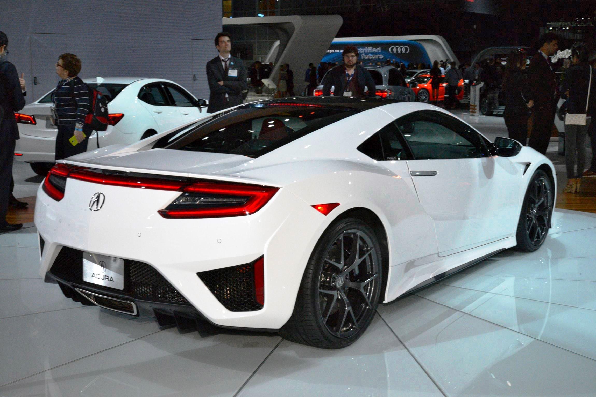 2017 Acura NSX white 4