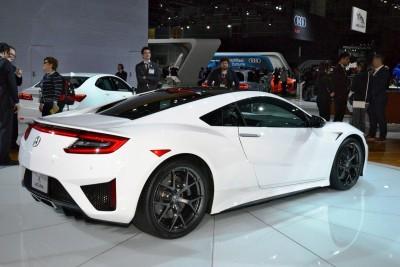 2017 Acura NSX white 5