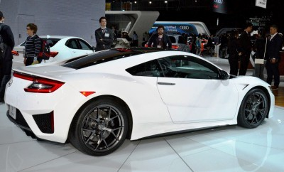 2017 Acura NSX white 6