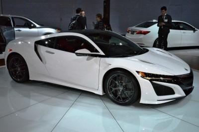 2017 Acura NSX white 8