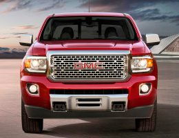2017 GMC Canyon DENALI Wears Butch New Grille, 20s and LEDs – 31MPG DuraMax Diesel Optional
