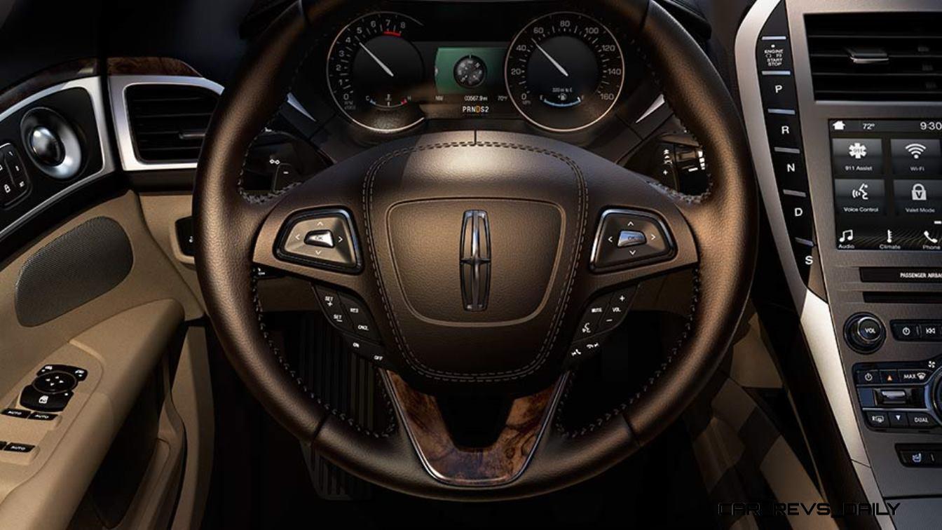 2017 lincoln mkz 400hp v6tt new tvd awd drivers pack car revs. Black Bedroom Furniture Sets. Home Design Ideas