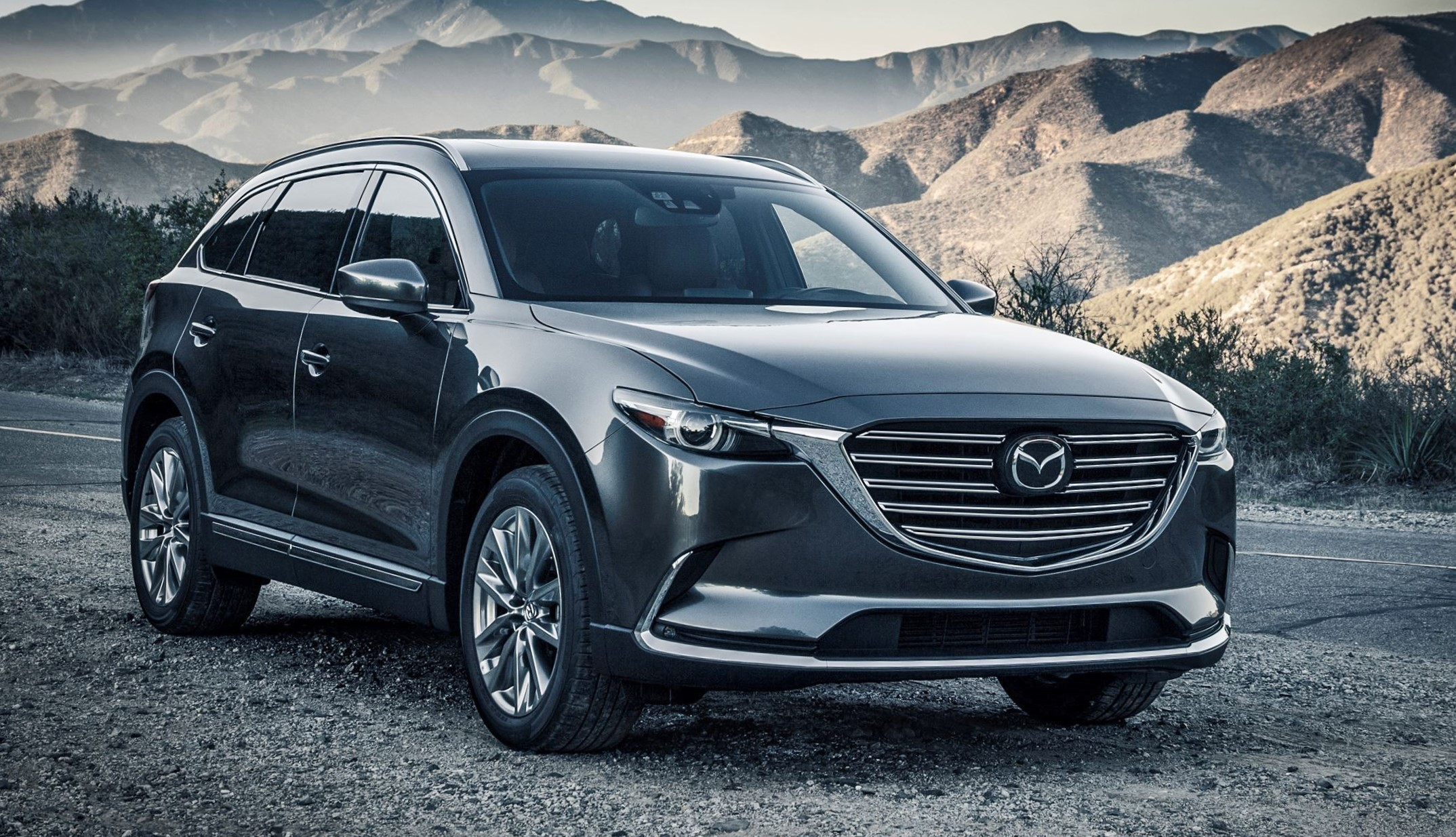 2017 mazda cx 9 revealed gorgeous redesign lux cabin and new turbo power. Black Bedroom Furniture Sets. Home Design Ideas