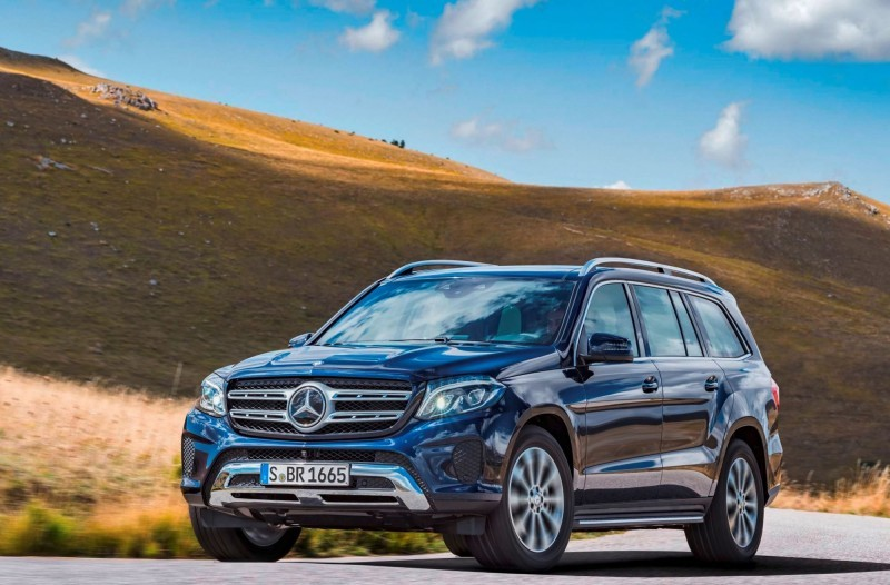 2017 Mercedes-Benz GLS 17