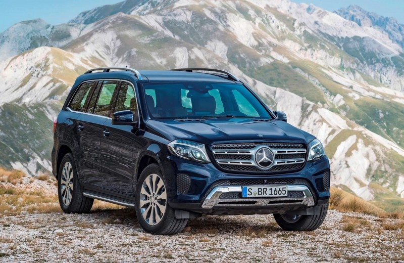 2017 Mercedes-Benz GLS 18
