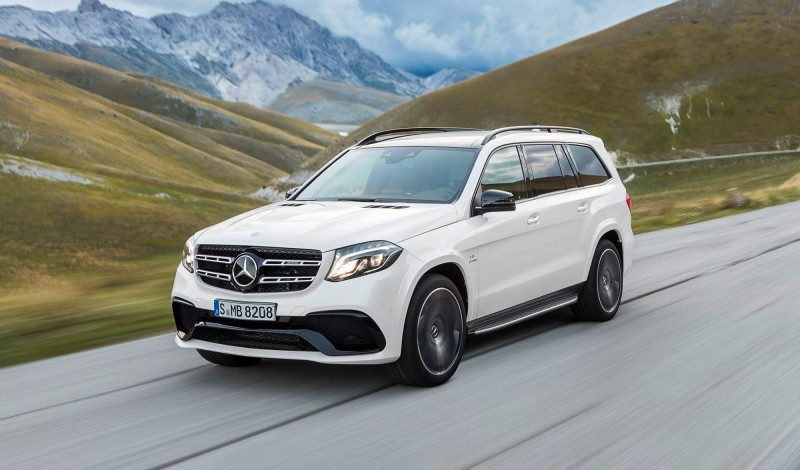 2017 Mercedes-Benz GLS 5