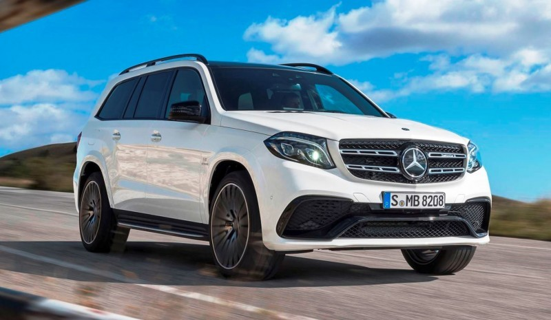 2017 Mercedes-Benz GLS 8