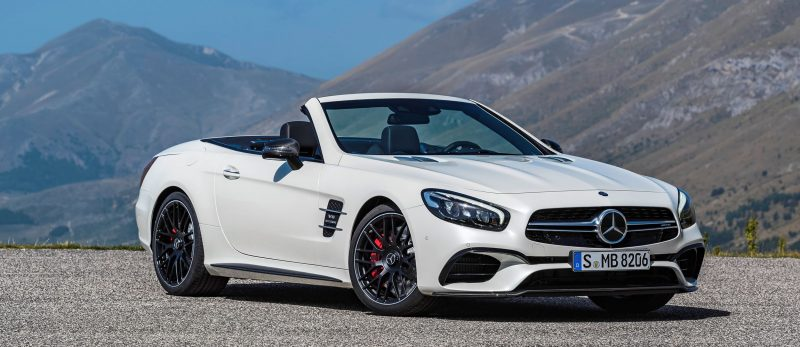 2017 Mercedes-Benz SL 16