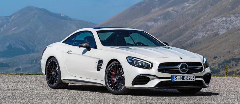 2017 Mercedes-Benz SL 17