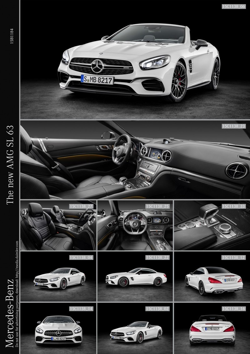 The new AMG SL 63