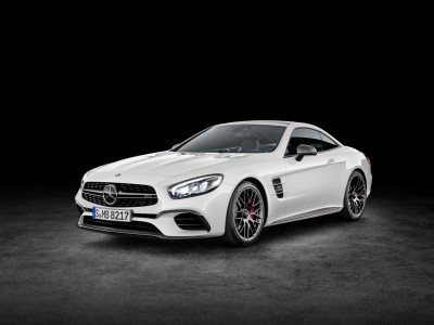Mercedes-AMG SL 63 ( Studio), Diamantweiß Mercedes-AMG SL 63, diamond white