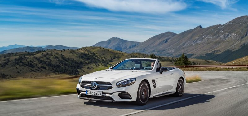 2017 Mercedes-Benz SL 8