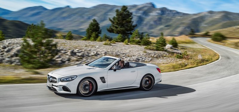 2017 Mercedes-Benz SL 9
