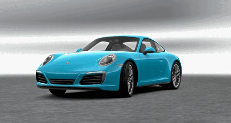 2017 Porsche 911 Miami mBlue
