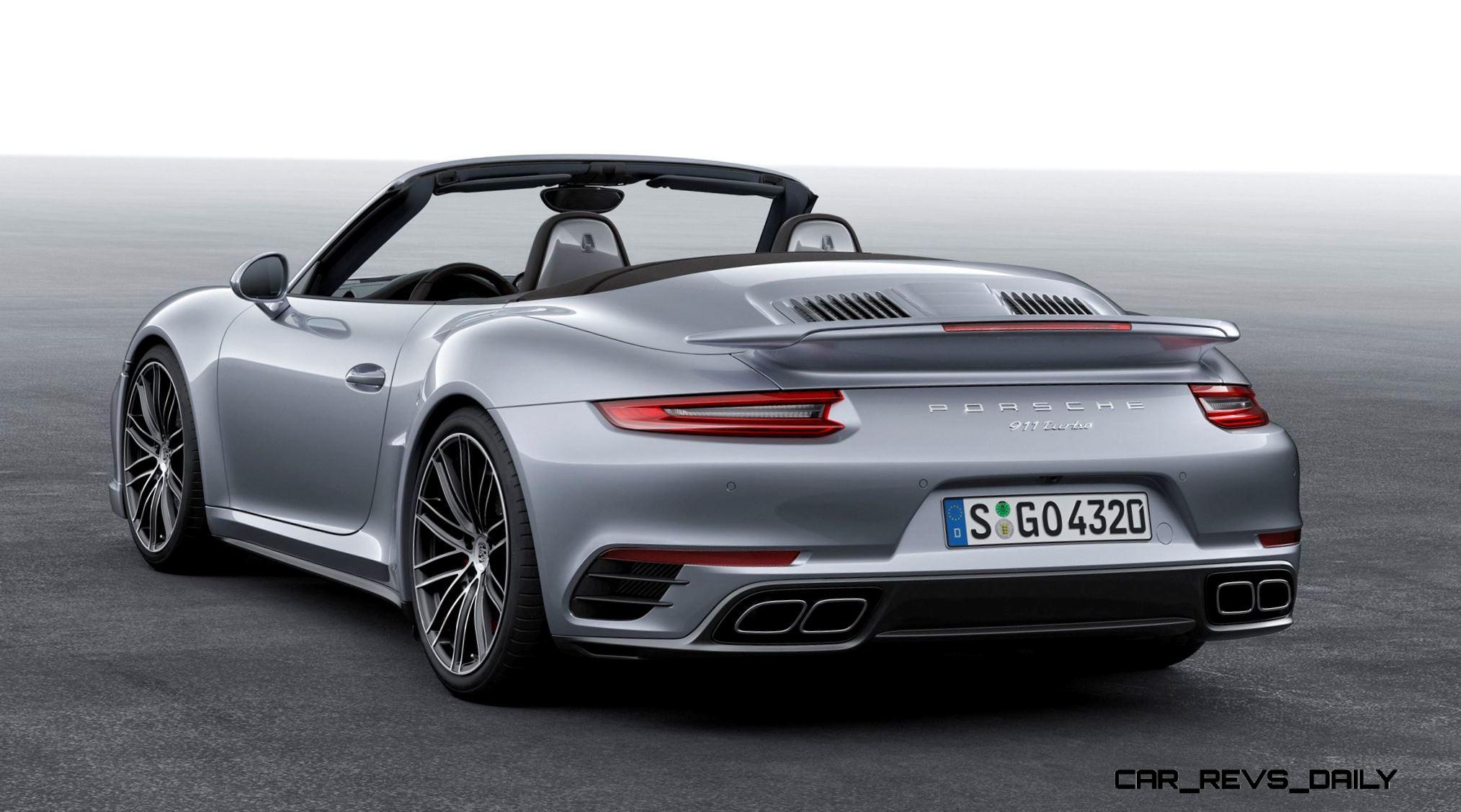 Elegant 25s 215MPH 2017 Porsche 911 Turbo S Revealed  New Anti