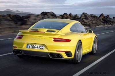 2017 Porsche 911 Turbo 16
