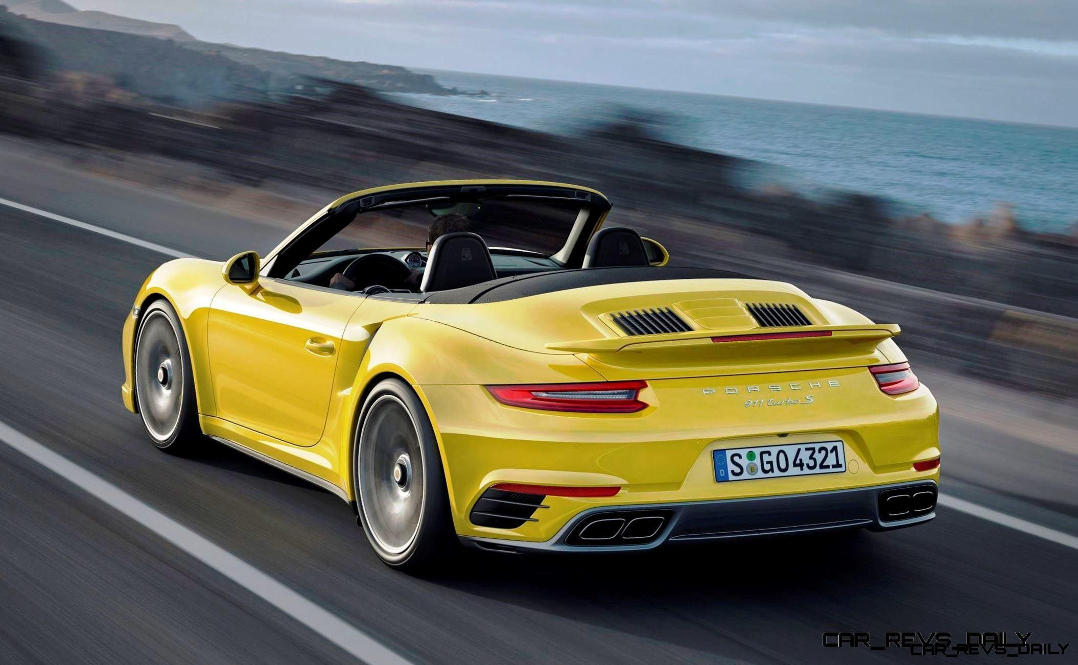 Excellent 25s 215MPH 2017 Porsche 911 Turbo S Revealed  New Anti