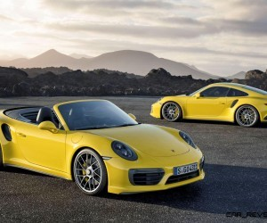 Fantastic 25s 215MPH 2017 Porsche 911 Turbo S Revealed  New Anti
