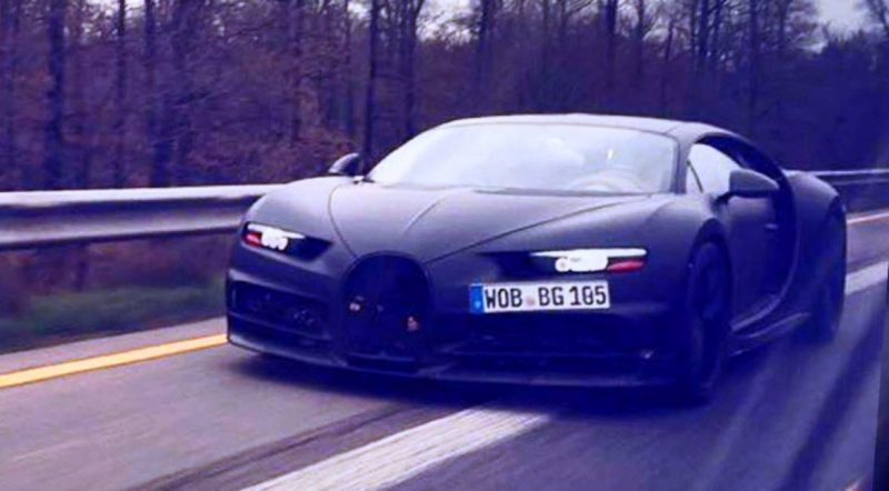 300MPH 2018 BUGATTI Spyshots, Renderings and Design Analysis 3