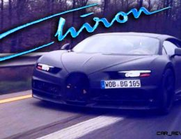 2017 Bugatti CHIRON is Official!  100 Pre-Orders Locked in Ahead of Geneva 2016 Reveal