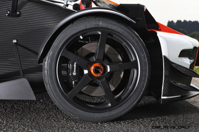 4.0s 2015 KTM X-Bow R Limited Edition by WIMMER RST 5