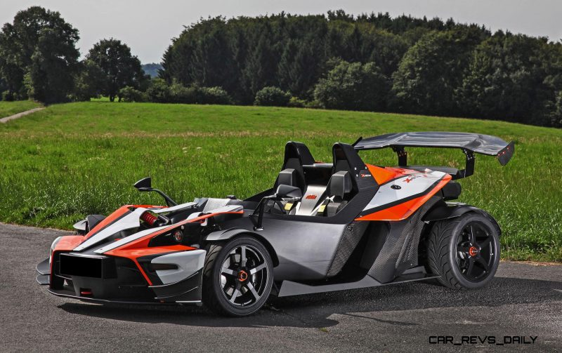 4.0s 2015 KTM X-Bow R Limited Edition by WIMMER RST 8
