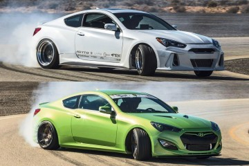 Hyundai SEMA 2015 - Genesis Coupes From ARK and TJIN Are 1200HP of Sideways Bliss