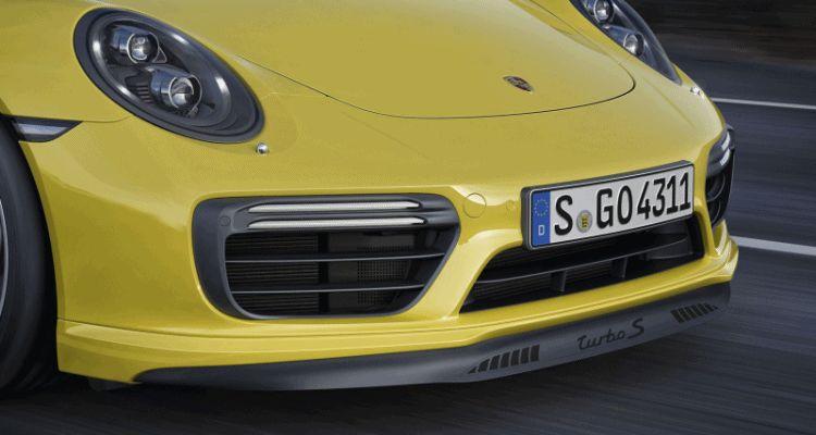 911 turbo s front splitter animation