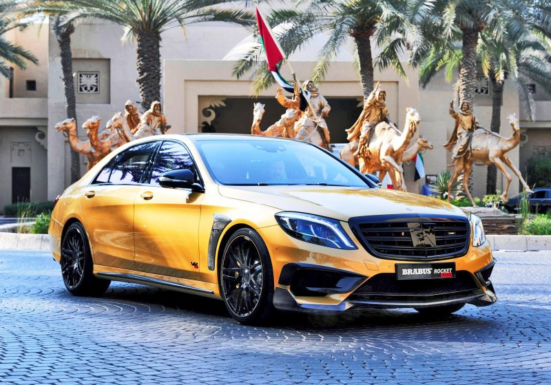 BRABUS Rocket 900 Desert Gold Edition 1