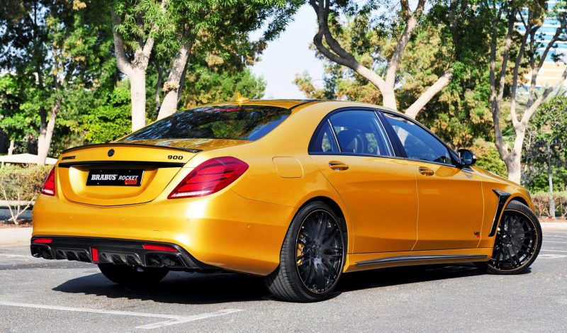 BRABUS Rocket 900 Desert Gold Edition 2