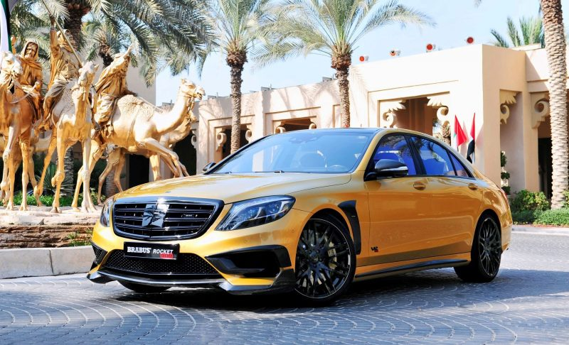 BRABUS Rocket 900 Desert Gold Edition 3