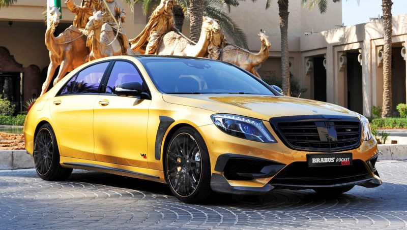 BRABUS Rocket 900 Desert Gold Edition 4