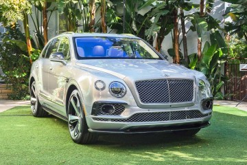 600HP, 4.0s 2016 Bentley BENTAYGA First Edition Debuts with Carbon-Fiber Aero Details