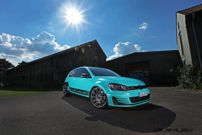 CAM SHAFT _ PP-Performance NRW VW Golf GTI MK7 7