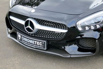 CHROMETEC Launches New AMG GT-S Carbon-Fiber Aero Pieces