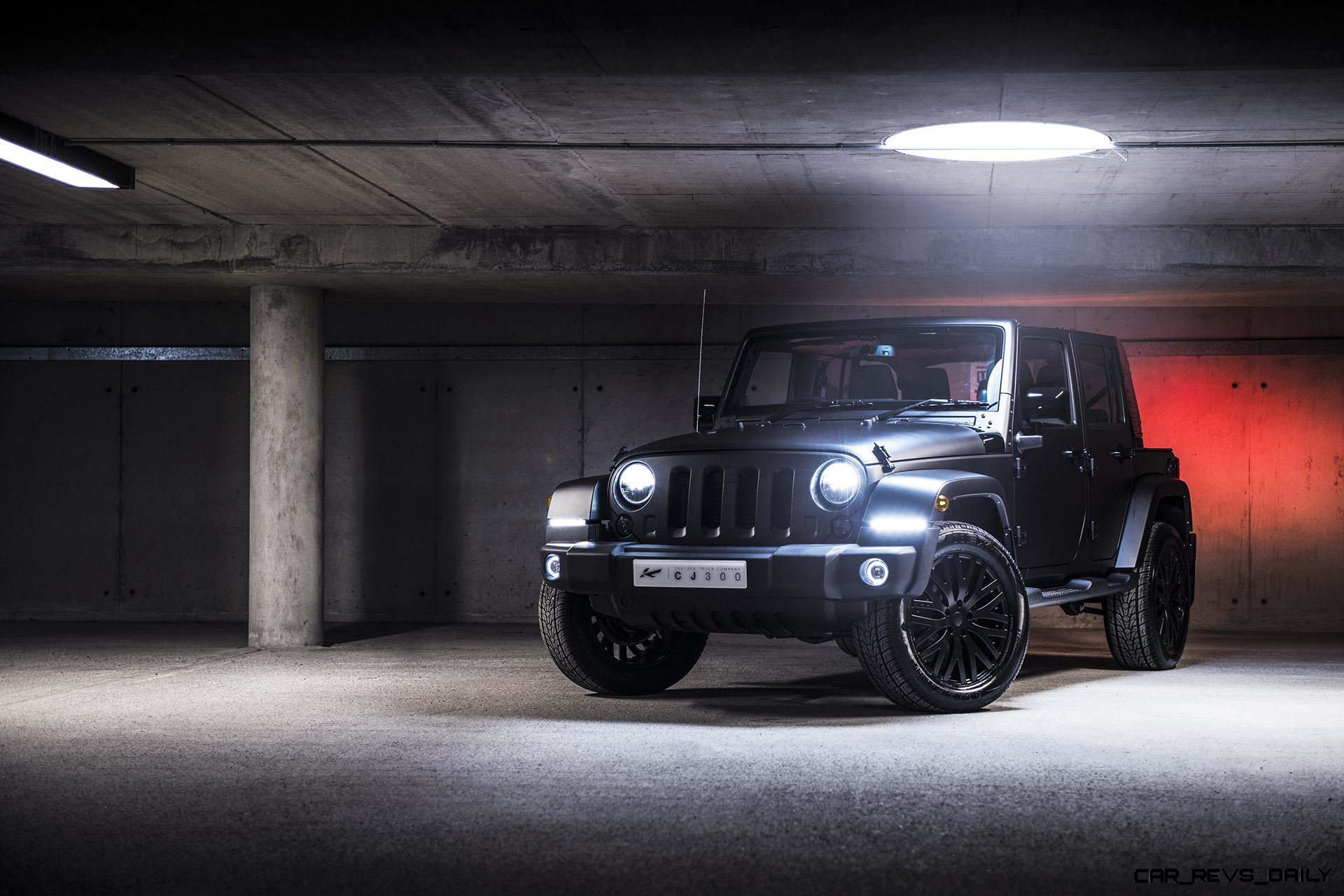 Chelsea Truck Co Jeep CJ300 by Kahn Design