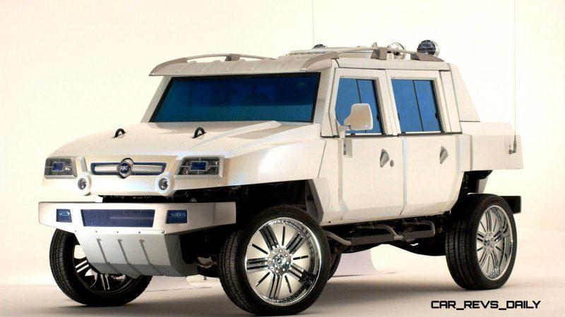 Concept Flashback - 2005 Fiat OLTRE 18