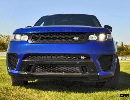 HD Road Test Review – 2016 Range Rover Sport SVR – Porsche-Beating YESSS Machine?